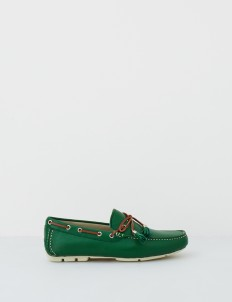Green Aaron Boat Shoes