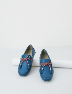 Navy Aaron Boat Shoes