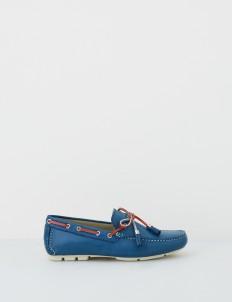 Navy Aaron Boat Shoes
