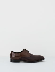 Brown Carver Derby Shoes