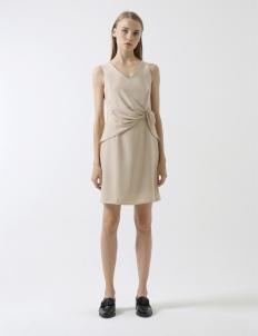 Beige Haven Dress