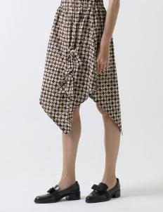 Bianca Kawung Hand Written Batik Tied Skirt
