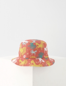 Pony Canvas Linen Bucket Hat