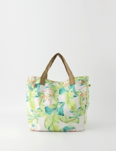 Tropical Garden #2 Oversized Canvas Bag