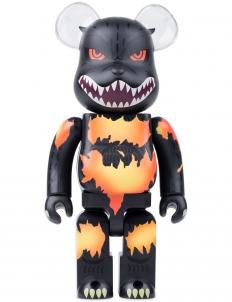 400% Godzilla Be@rbrick Desgodzi Burning Ver.