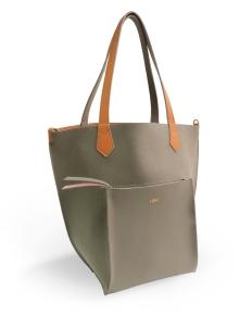 Taupe Orange 2Loev Maxi Bag
