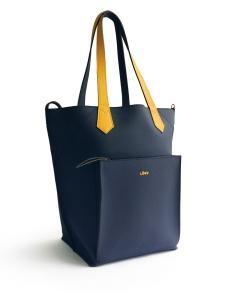 Navy Yellow 2Loev Maxi Bag