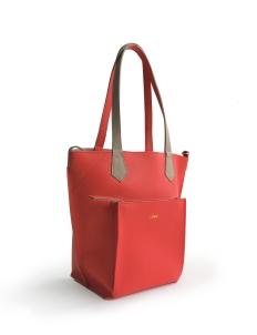 Red Taupe 2Loev Midi Bag