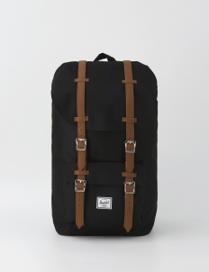 Little America Black Backpack