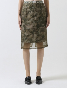 Prints on Japanese Canvas with Organza Skirt
