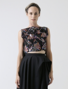 Mildred Cropped Top