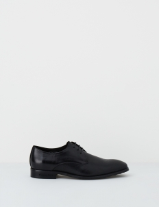 Black Carver Derby Shoes