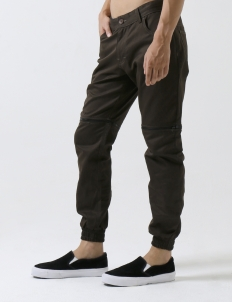 Cuffed Cargo 502H Dark Brown