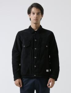 Work Jacket Black Cord Jacket