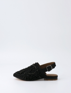 Black Labadiu Slip On Shoes