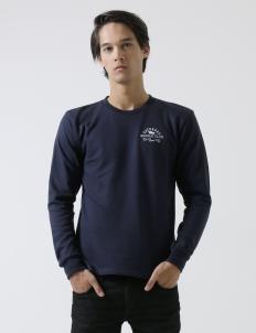Beach Navy Sweatshirt