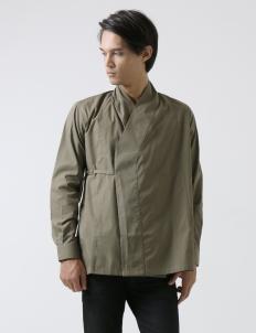 Army Green Kimono Shirt