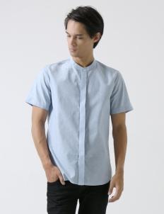 Light Blue Chambray Shirt