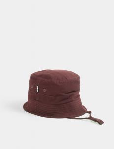 Burgundy Pine Bucket Hat
