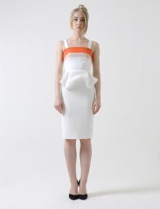 White Carribean Dress