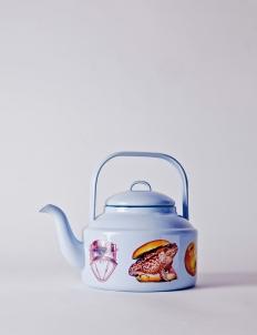 Toiletpaper Blue Teapot