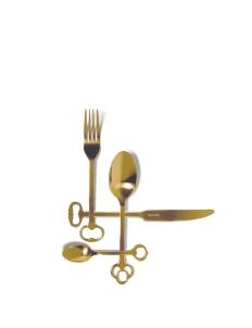 Gold Keytlery Set