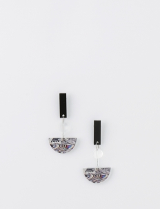 Glitch Arch Earrings