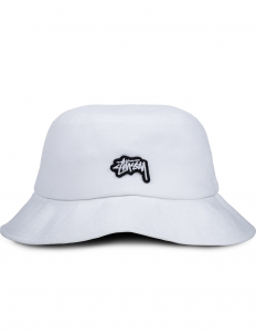 Stock Logo Pique Bucket Hat