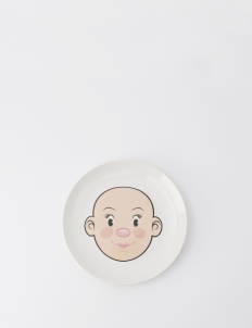 Food Face Girl Plate