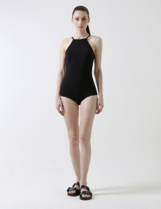 Black Adriene Bodysuit