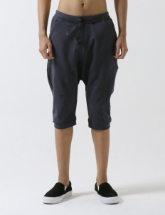 Navy Rat Jogger Short Pants