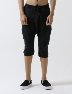 Black Rat Jogger Short Pants