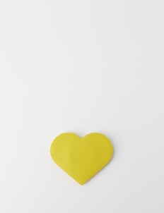 Yellow Heart Magnetic Bits