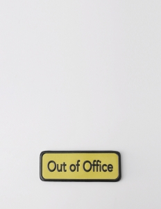 Out of Office' Magnetic Bits