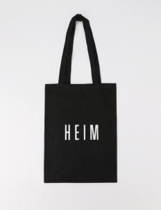 Black Mini Linen Tote Bag