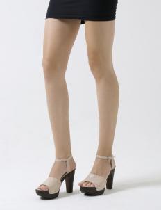 Ivory Beverly Platform Sandal