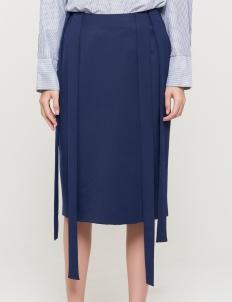 Navy Lenus Skirt