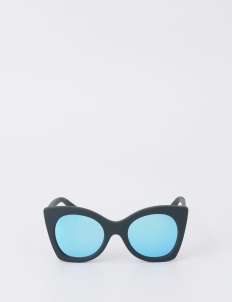 Navy Rubber Savanna Sunglasses