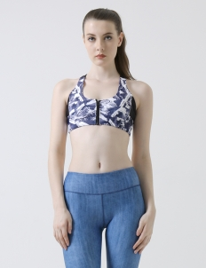 Denim Dynamic Active Crop Pants