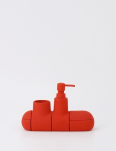 Red Submarino Soap Dispenser