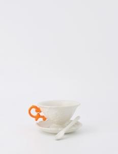 Orange I-Tea Cup