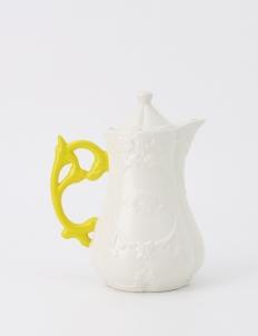 Yellow I-Tea Pot