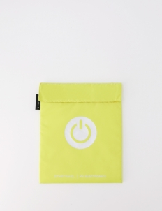 Yellow My Electronics Travel Pouch