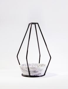 Black Apollo Medium Vase