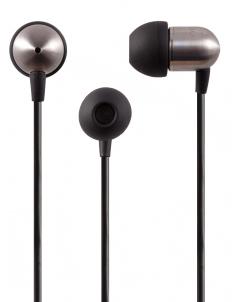 Black NS400 Titanium iOS Earphones