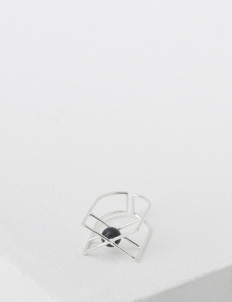 Silver Array Ring