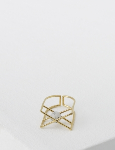Gold Array Ring
