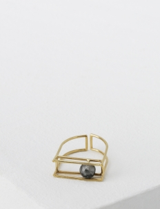 Gold Affixed Ring