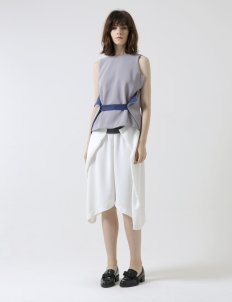 Light Gray Wrap Top - Limited Edition
