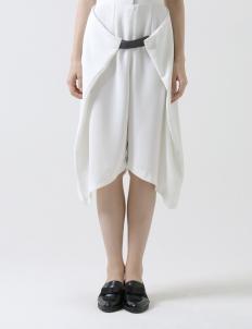 White Wrap Culottes